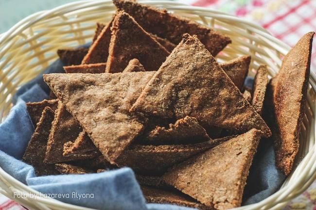 Цельнозерновое печенье с отрубями
