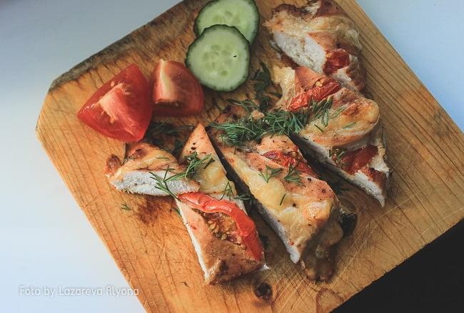 Нежное и полезное куриное филе, запеченное в духовке