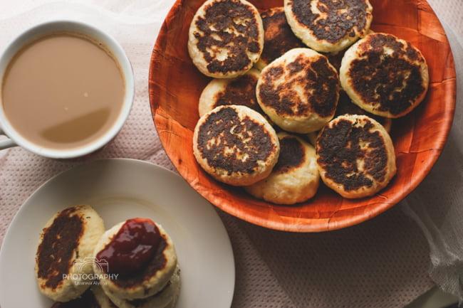 Мини-рецепт: диетические ванильные сырники