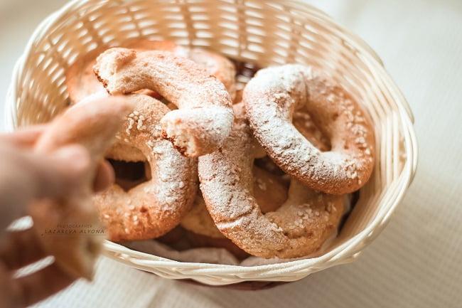 Рецепт диетических пончиков-бубликов в духовке