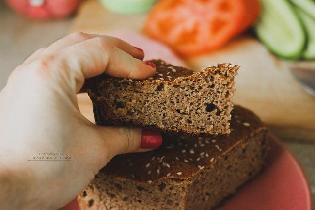 низкокалорийный хлеб