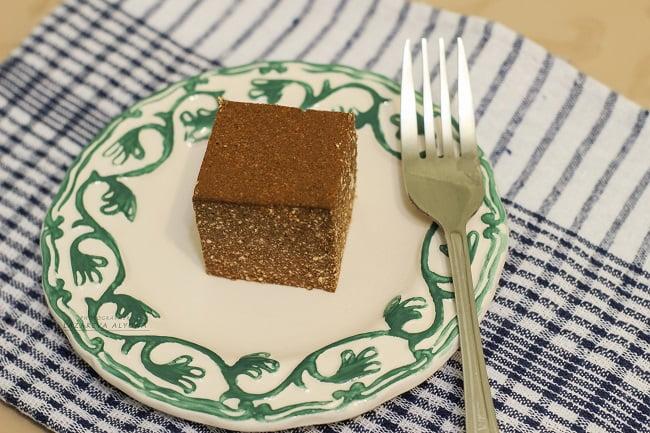 десерт из творога с какао