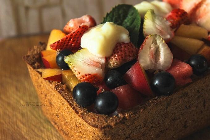 полезный пирог