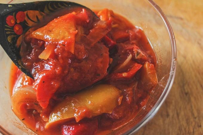 Венгерское лечо из сладкого перца